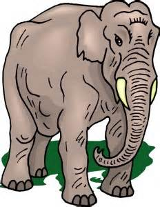 Write a paragraph on The Elephant in simple words, easy to learn and understand for children